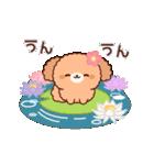 ぽかぽかトイプードル(春~初夏)(個別スタンプ:17)