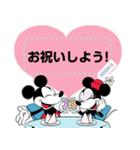 ミッキー&ミニー メッセージスタンプ(個別スタンプ:09)