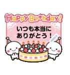 文章を入れてね★白たまのお祝い&誕生日(個別スタンプ:1)