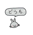 どこにでもいるウサギ(個別スタンプ:38)