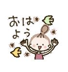 コロナに負けない♡おだんごガール(個別スタンプ:36)