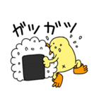 ひよこ人間ぴよの食べ物スタンプ(個別スタンプ:07)