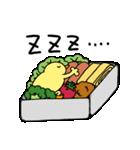 ひよこ人間ぴよの食べ物スタンプ(個別スタンプ:11)