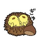 ひよこ人間ぴよの食べ物スタンプ(個別スタンプ:35)