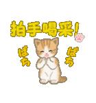 ちび猫 おめでとうスタンプ(個別スタンプ:14)