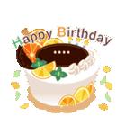 名前入誕生日ケーキ(名前の変更可能)第2弾(個別スタンプ:3)