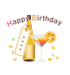 名前入誕生日ケーキ(名前の変更可能)第2弾(個別スタンプ:6)