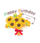 名前入誕生日ケーキ(名前の変更可能)第2弾(個別スタンプ:7)
