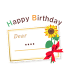名前入誕生日ケーキ(名前の変更可能)第2弾(個別スタンプ:8)