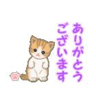 ちび猫 ありがとうスタンプ(個別スタンプ:5)