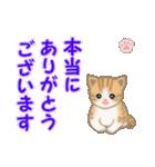 ちび猫 ありがとうスタンプ(個別スタンプ:11)
