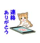 ちび猫 ありがとうスタンプ(個別スタンプ:33)