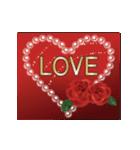 動く▶︎✨特別な日の華やかお祝いセット✨(個別スタンプ:4)