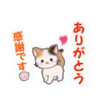 ちび三毛猫 毎日優しいスタンプ(個別スタンプ:15)