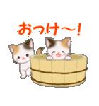 三毛猫ツインズ ひょっこり(個別スタンプ:10)