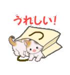 三毛猫ツインズ ひょっこり(個別スタンプ:30)