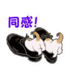 三毛猫ツインズ ひょっこり(個別スタンプ:32)