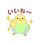 仲良しインコさん(個別スタンプ:04)