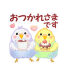 仲良しインコさん(個別スタンプ:05)