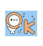元気いっぱいなゴマフアザラシちゃん(個別スタンプ:05)