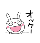 ふんわかウサギ23(お祝い編3)(個別スタンプ:30)