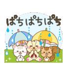 大人のためアニマルズ梅雨と雨の日のお祝い(個別スタンプ:31)