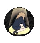 パーカーの女の子(クール)3(個別スタンプ:33)