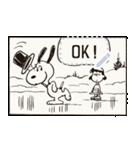 【マンガスタンプ】スヌーピー(個別スタンプ:2)
