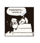 【マンガスタンプ】スヌーピー(個別スタンプ:18)