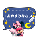 【吹き出しスタンプ】ミッキー&フレンズ(個別スタンプ:14)