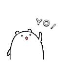 パンダと白いハムスター6(個別スタンプ:2)