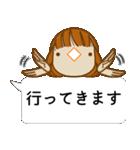 顔文字ガール[ふわふわショートヘアー]編(個別スタンプ:34)