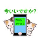 三毛猫ツインズ 毎日優しいスタンプ(個別スタンプ:2)
