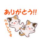 三毛猫ツインズ 毎日優しいスタンプ(個別スタンプ:16)