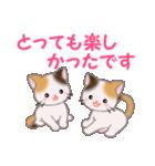 三毛猫ツインズ 毎日優しいスタンプ(個別スタンプ:39)