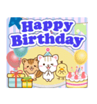 大人のためのねこ♥年間イベントと誕生日(個別スタンプ:33)