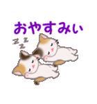三毛猫ツインズ 毎日使う言葉(個別スタンプ:5)