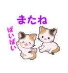 三毛猫ツインズ 毎日使う言葉(個別スタンプ:6)