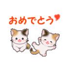 三毛猫ツインズ 毎日使う言葉(個別スタンプ:14)