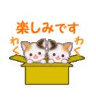 三毛猫ツインズ 毎日使う言葉(個別スタンプ:16)