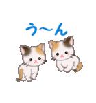 三毛猫ツインズ 毎日使う言葉(個別スタンプ:28)