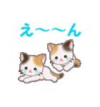 三毛猫ツインズ 毎日使う言葉(個別スタンプ:32)