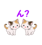三毛猫ツインズ 毎日使う言葉(個別スタンプ:33)