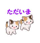 三毛猫ツインズ 毎日使う言葉(個別スタンプ:39)