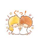 キキ&ララ オノマトペスタンプ♪(個別スタンプ:1)