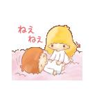 キキ&ララ オノマトペスタンプ♪(個別スタンプ:20)