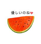 果物人間と野菜人   パートツゥ(個別スタンプ:25)