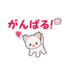 赤ちゃん白猫 毎日使う言葉(個別スタンプ:19)