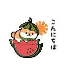 しば丸くんの夏(個別スタンプ:02)