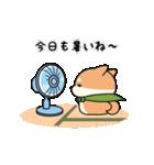 しば丸くんの夏(個別スタンプ:8)